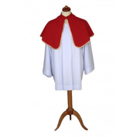 Altar Shoulder Capes (one-sided red)