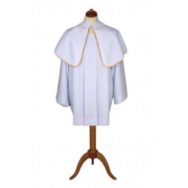 Altar Shoulder Capes (one-sided white)