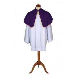 Altar Shoulder Capes (one-sided violet)