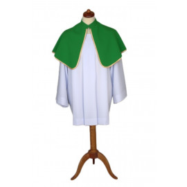 Altar Shoulder Capes (one-sided green)