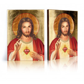Jesus heart icon