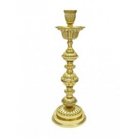 Brass candlestick 39 cm