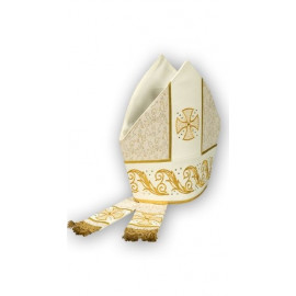 Embroidered mitre (3)