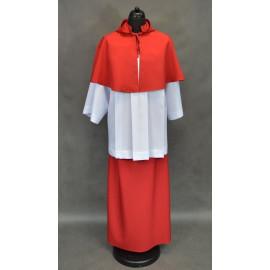 Red Altar Server Skirts + Capes