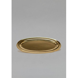 The oval tray gilds