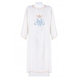 Marian embroidered dalmatics - ecru (13)