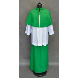 Green Altar Server Skirts + Capes