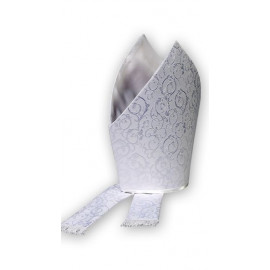 Mitre white or gold with ornament (2)