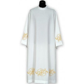 Embroidered priest's alb (10)