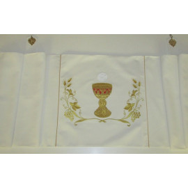 Humeral veil embroidered chalice - beautiful embroidery