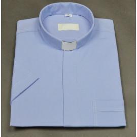Clergy blue shirt