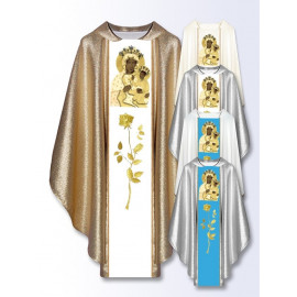 Marian chasuble Our Lady of Czestochowa (501)