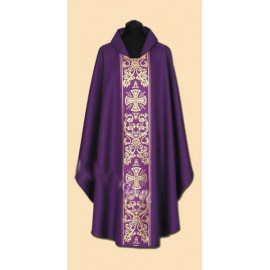 Embroidered chasuble (24A)