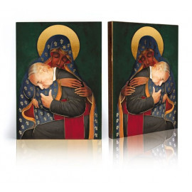 Icon of the Mother of God and Cardinal Wyszyński