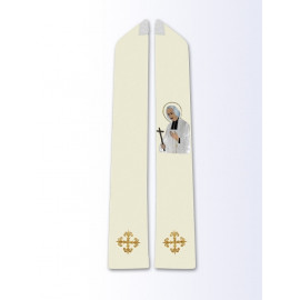 The stole with the image of St. John Mary Vianney