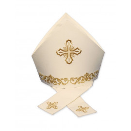 Mitre embroidered crosses (2)