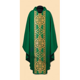 Embroidered chasuble (22A)