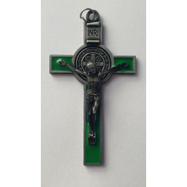St. Benedict's Cross - green