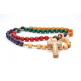 Wooden Missionary Rosary