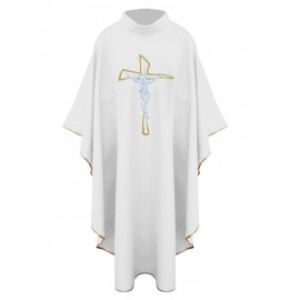 Chasuble with a cross