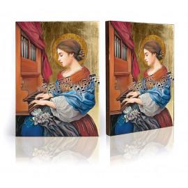 Saint Cecilia ikon