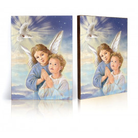 Guardian angel icon with the Holy Spirit (29)