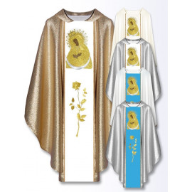 Marian chasuble of Our Lady of the Ostra Brama (514)