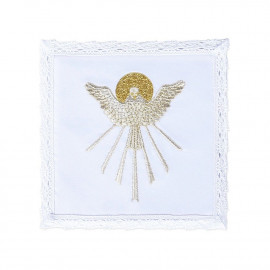 Chalice linen - Holy Spirit - gold thread (12)