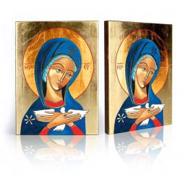 Icon of Our Lady carrying the Holy Spirit (Pneumatophora)