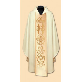 Embroidered chasuble (15A)
