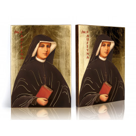 Saint icon Faustina (2)