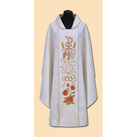 Wedding chasuble - richly embroidered (93A)