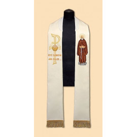 Embroidered stole St. Brother Albert (31)