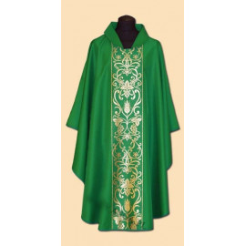 Embroidered chasuble (21A)