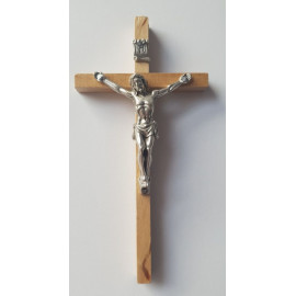 Wooden cross - light 13 x 7 cm