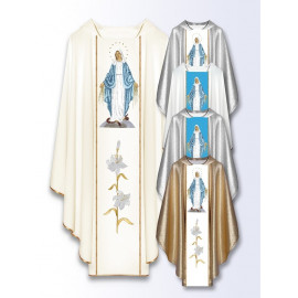 Marian chasuble with Our Lady of the Immaculate (505)
