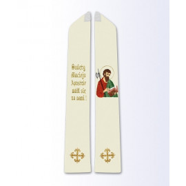Stole with the image of St. Matthew
