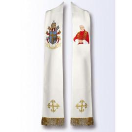 Stole with the image of Saint John Paul II (B)