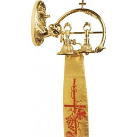 TWO-TONE BRASS SANCTUARY BELL