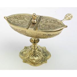 Brass boat - 12 cm