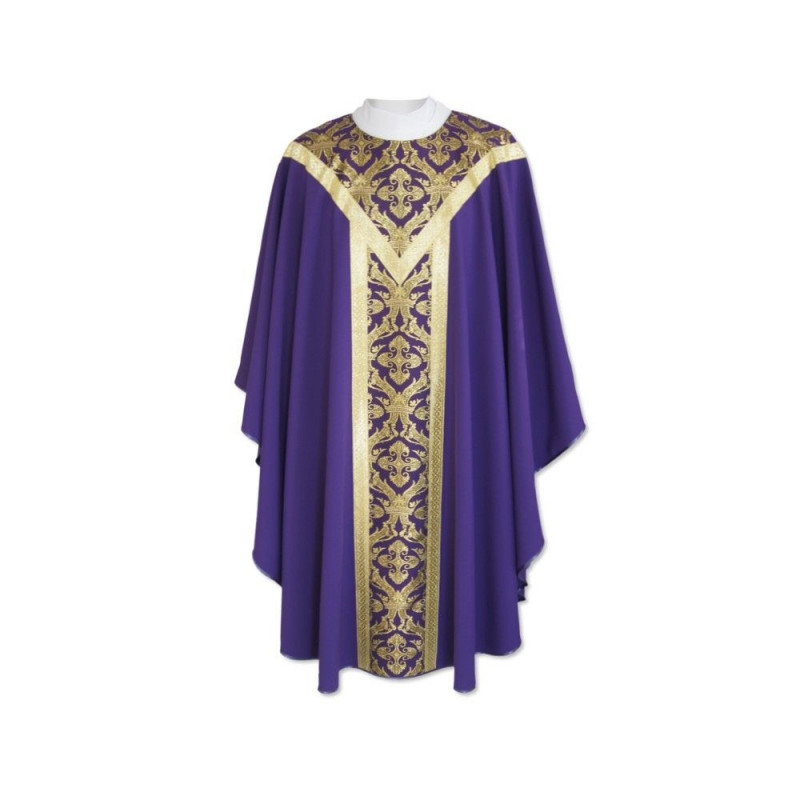 Semi-Gothic Chasuble - liturgical colors (41)