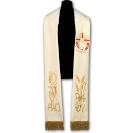 Easter priest's stole - embroidered (218)