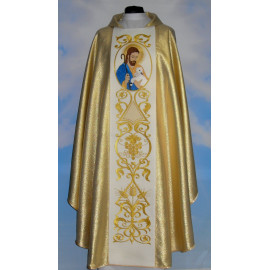 Chasuble Good Shepherd - gold (1)
