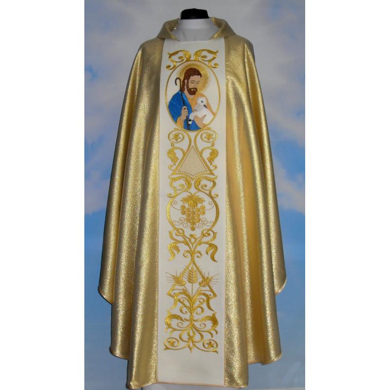Chasuble Good Shepherd - gold (1)