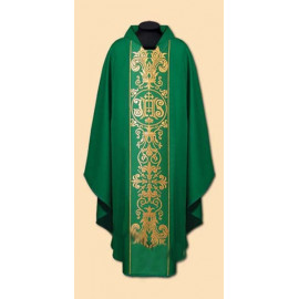 Embroidered chasuble (23A)
