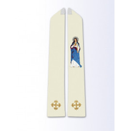 Stole with the image of St. Mary Magdalene