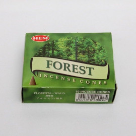 Incense cone - Forest (10 cones)