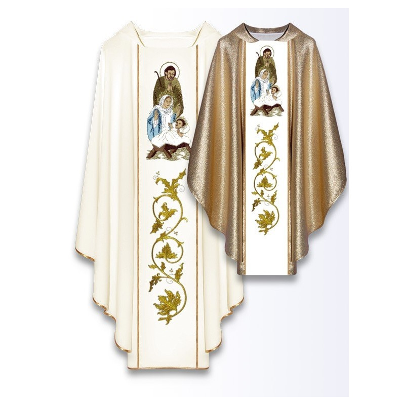 Christmas chasubles - Holy Family (6)
