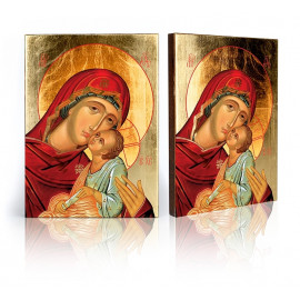 Icon of the Mother of God Eleusa (Tender Mother of God) - 5