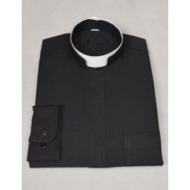 Roman clergy shirt + collar